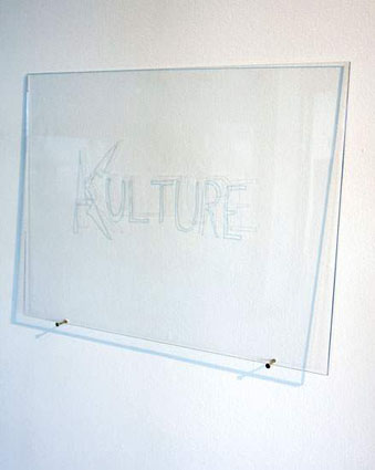 <em>Kulture (Cuts with a Knife)</em>, 2012